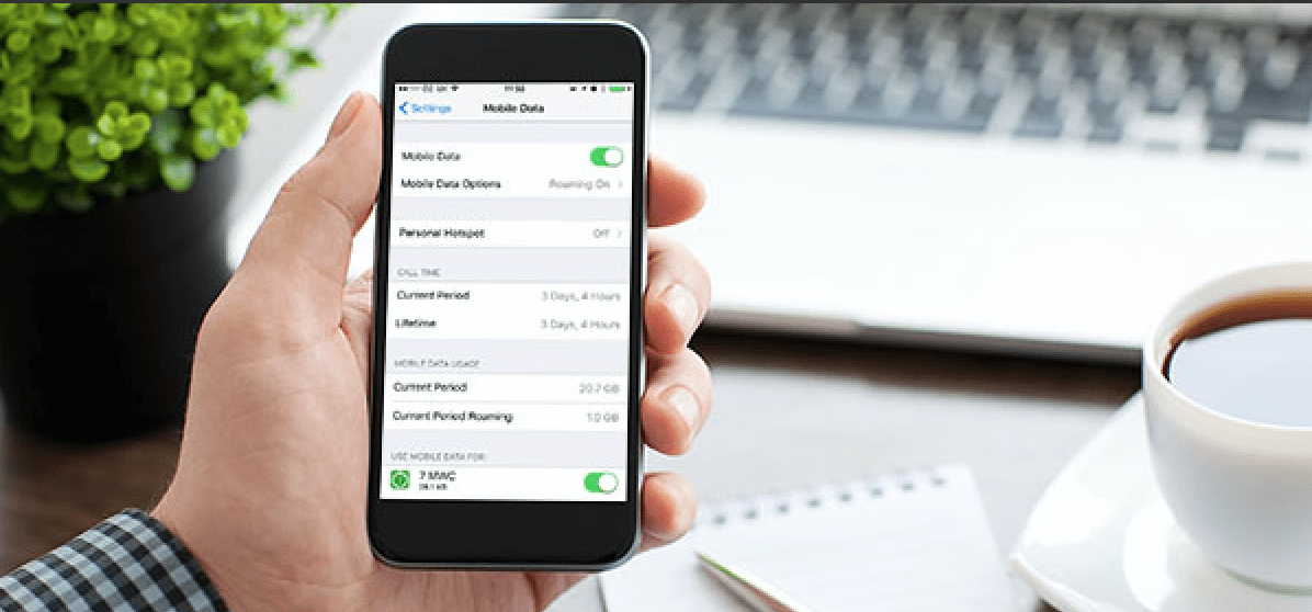 Know How To Track iPhone Data Usage