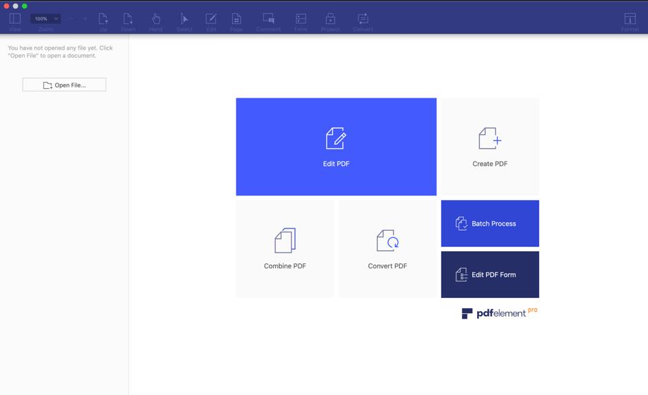 PDFelement 6 Pro For Mac