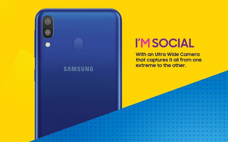 Galaxy M will sport dual rear cameras