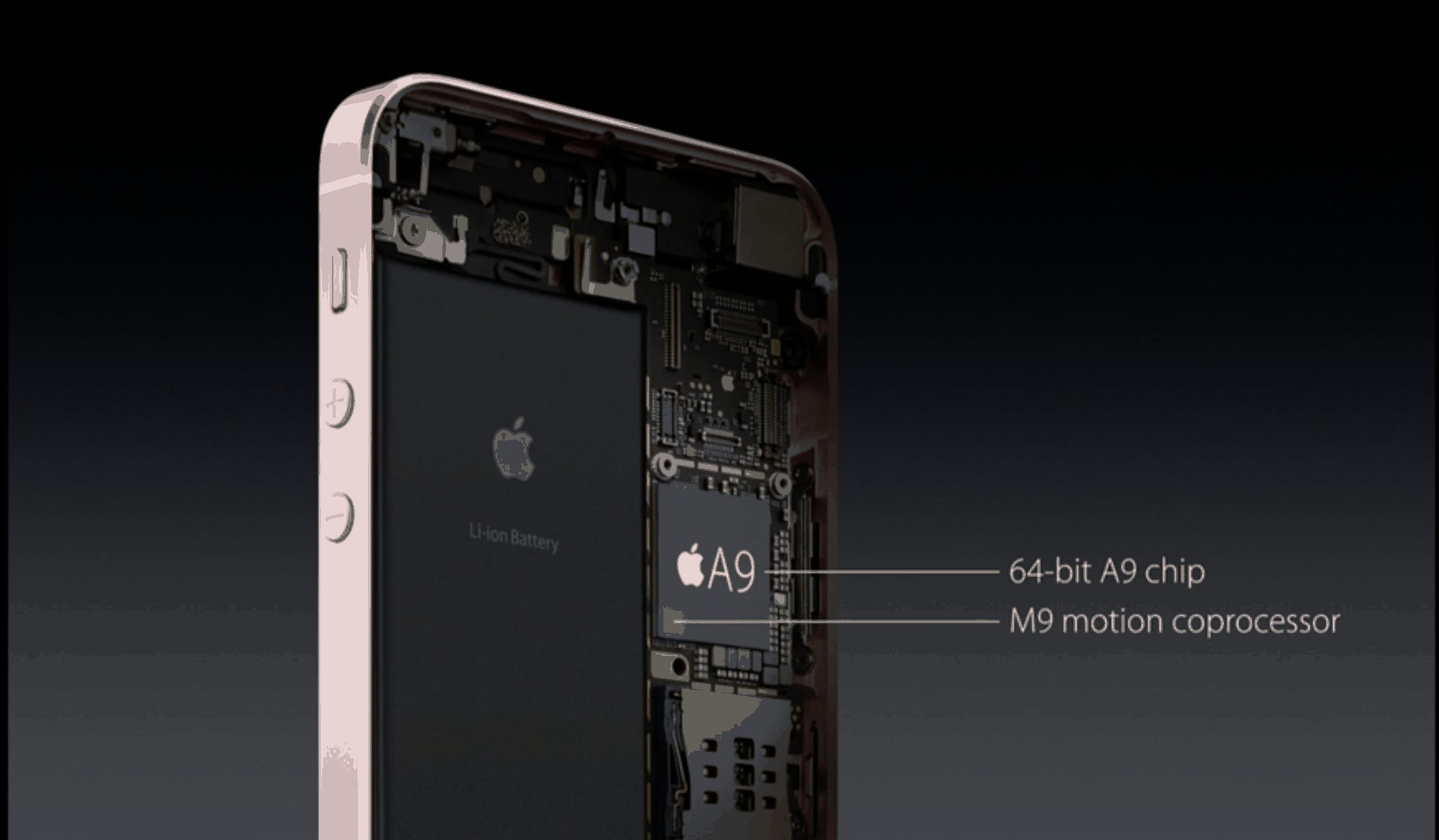 Apple A9 chip powers the iPhone SE