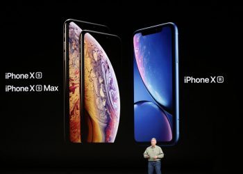 iPhone XS or the iPhone XR