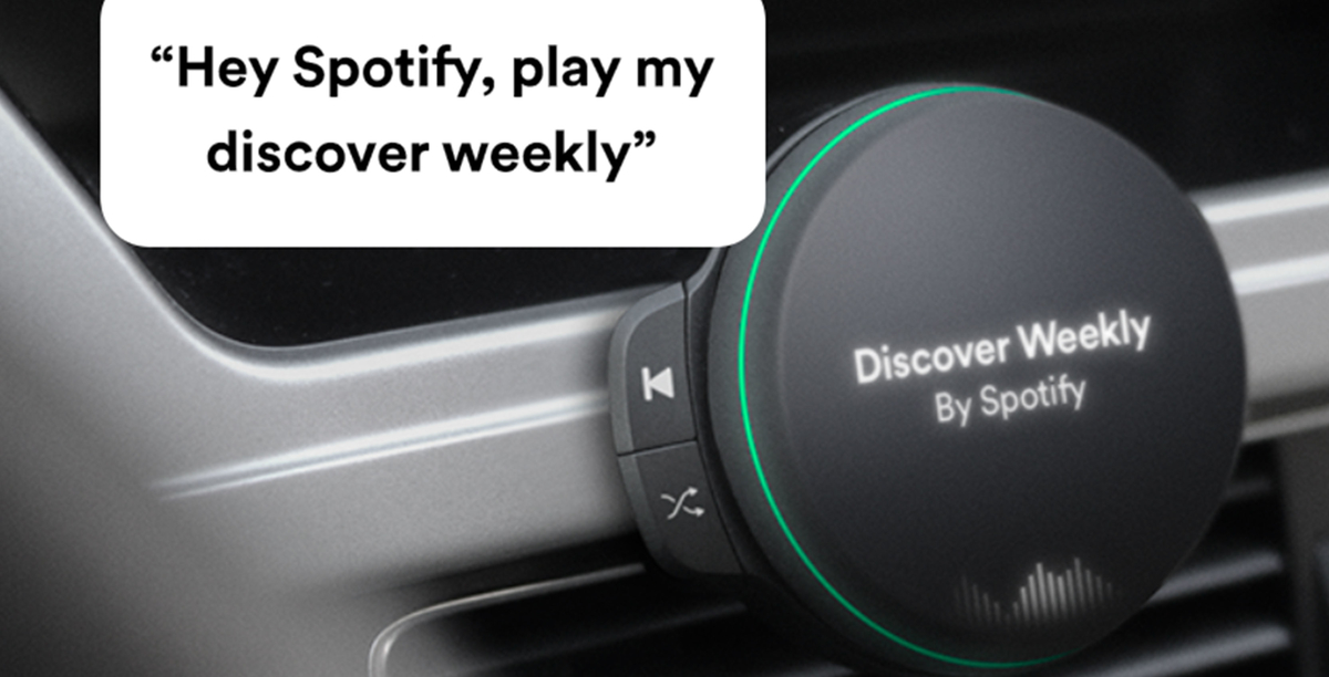 Spotify In-car device