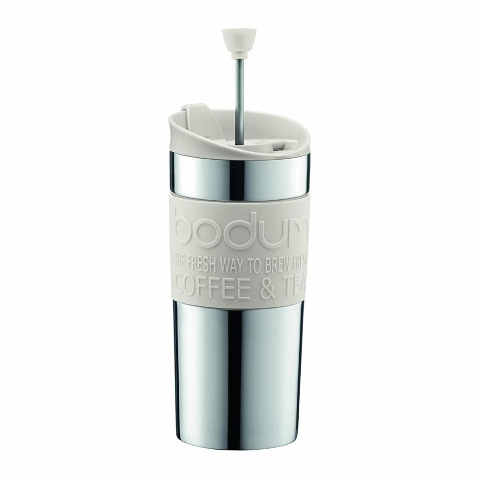 Bodum TRAVEL PRESS SET Small Stainless Steel Coffee Maker