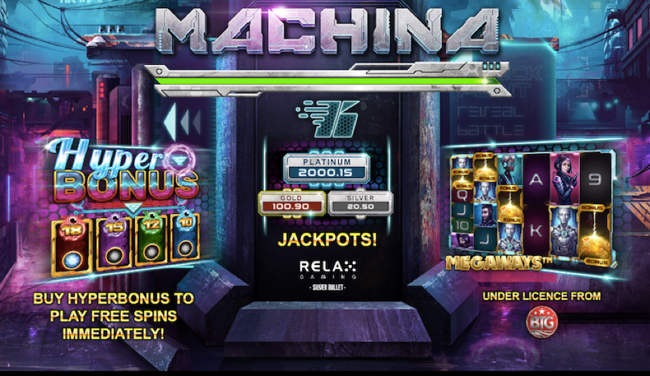 Machina Megaways™ By Relax Gaming