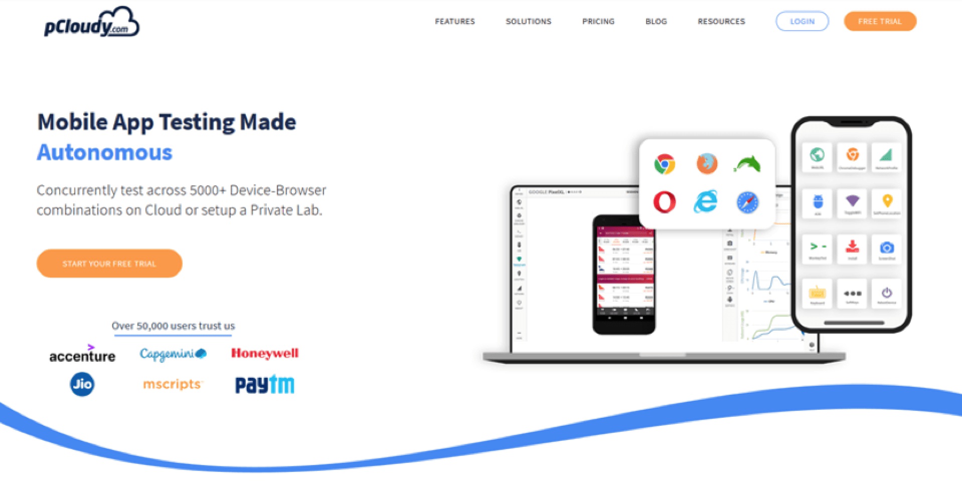 Why Test Mobile Apps With pCloudy?