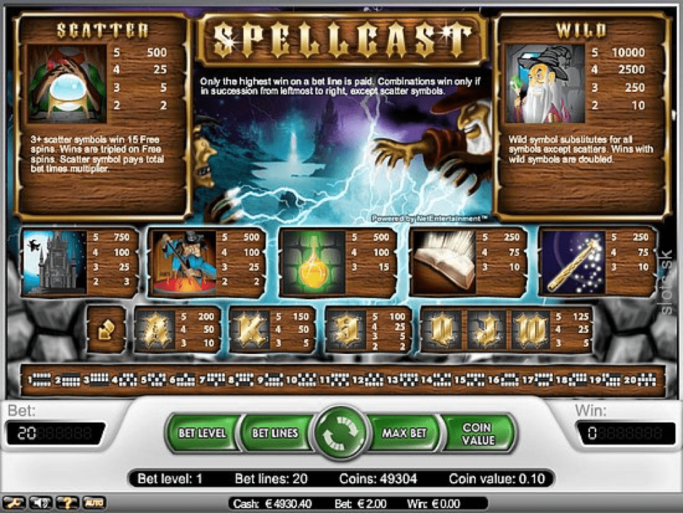 spellcast game