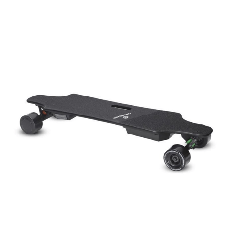 Ownboard C1S electric skateboard 35.4""