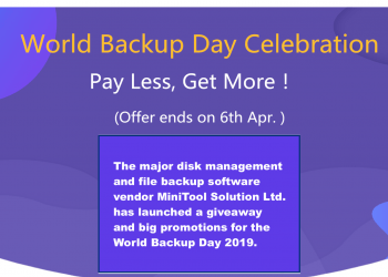 MiniTool Celebrates World Backup Day with Giveaway and Bundle Deal