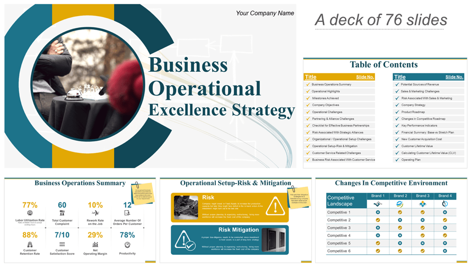 Download Operational Strategy Templates