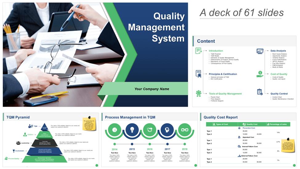 Download Quality Management System PPT Deck
