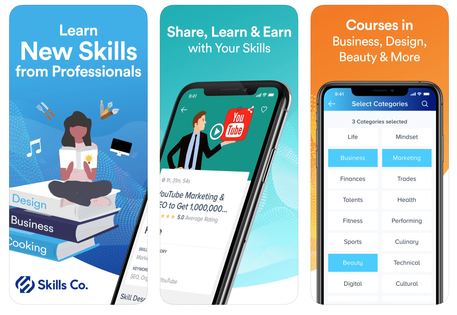 Share Skills And Get Paid For It On Skills Co.