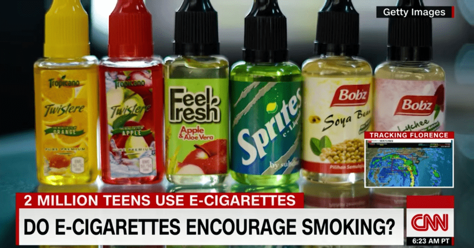 FDA Issues Marketing Guidelines to Vaping Companies