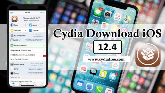 Jailbreak iOS 12.4 With CydiaFree to Cydia Download iOS 12.4