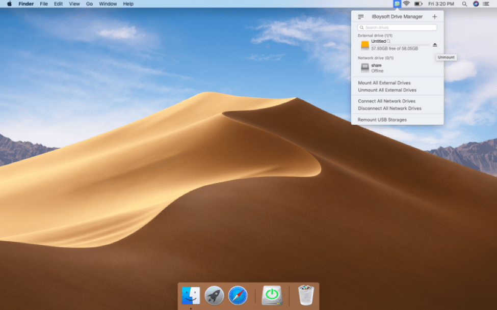 how to install iBoysoft Drive Manger