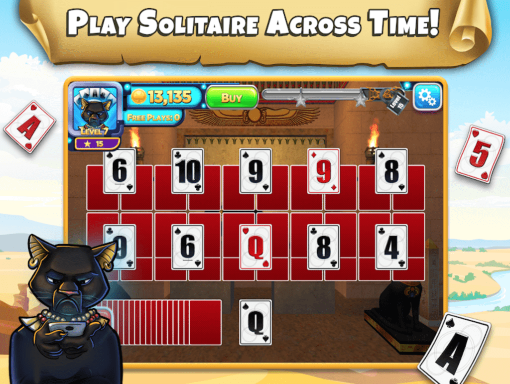 Solitaire Time Warp app review