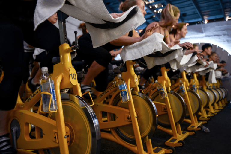How many calories do you burn in a spin class