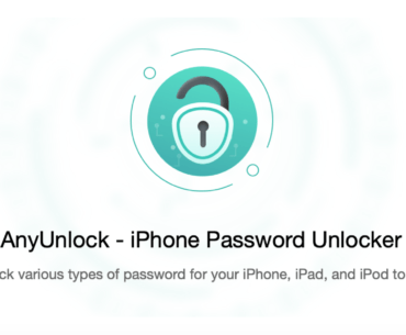 AnyUnlock - the best tool for you if you forgot iPhone iPad passcode