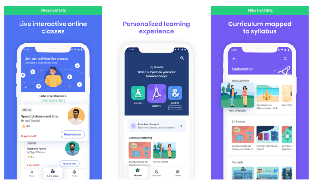Lido Learning App