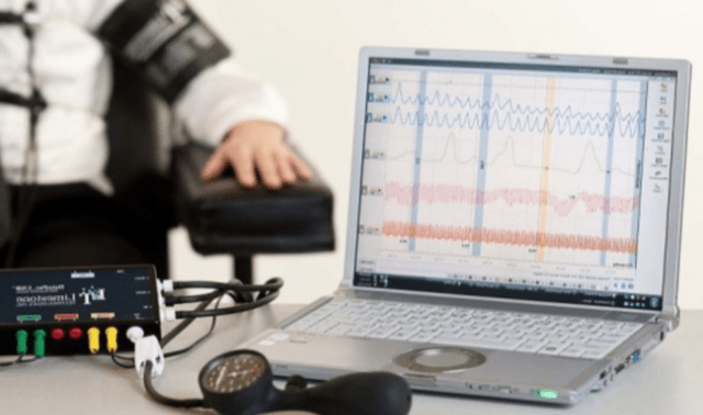 What is the logic of the lie detector?