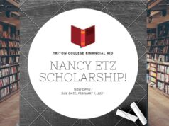 Applications for the Nancy Etz Scholarship are now open