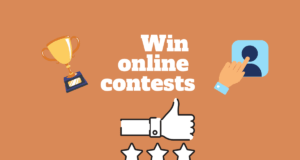 How To Win Online Contests Using The Right Methods?