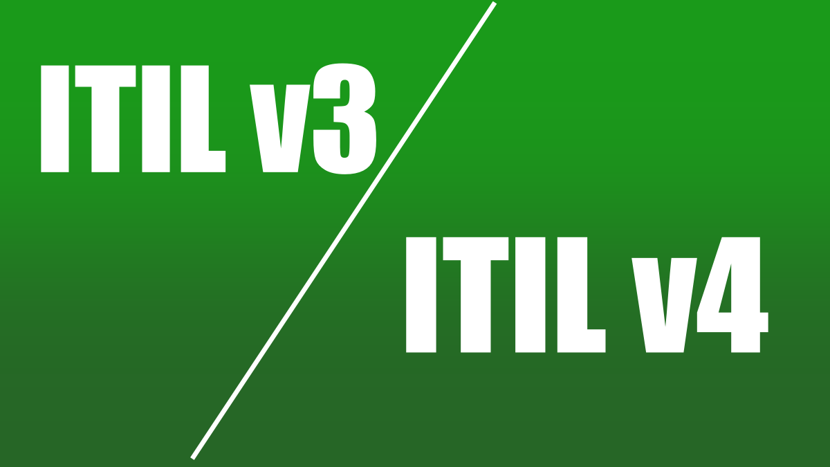 Major Differences Between ITIL v3 and ITIL v4