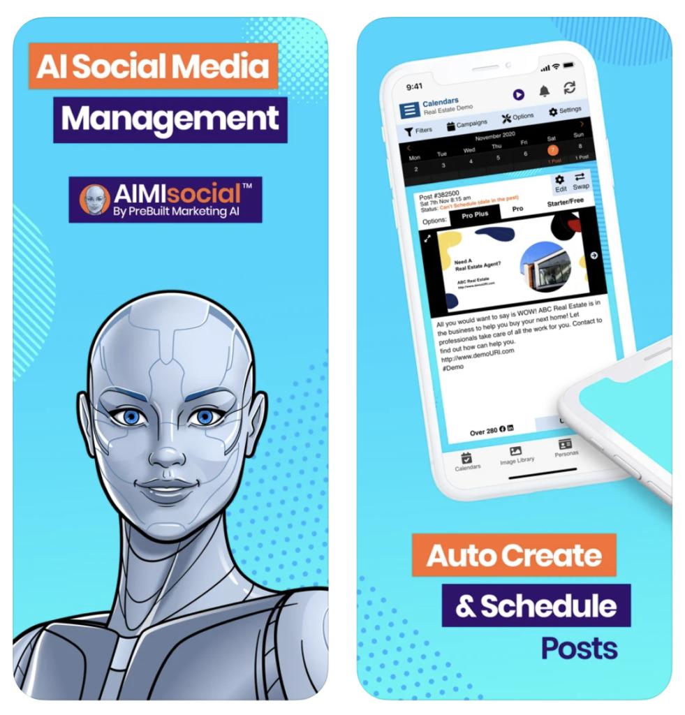 AIMIsocial screenshots