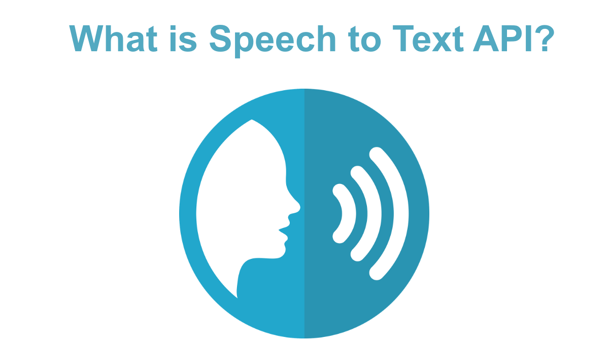 What is Speech to Text API?