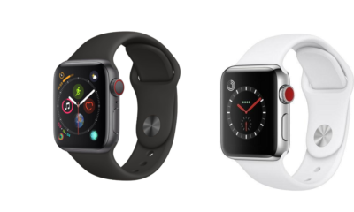 Refurbished Apple Watches– Comparison Between the Apple Watch Series 3 and Series 4