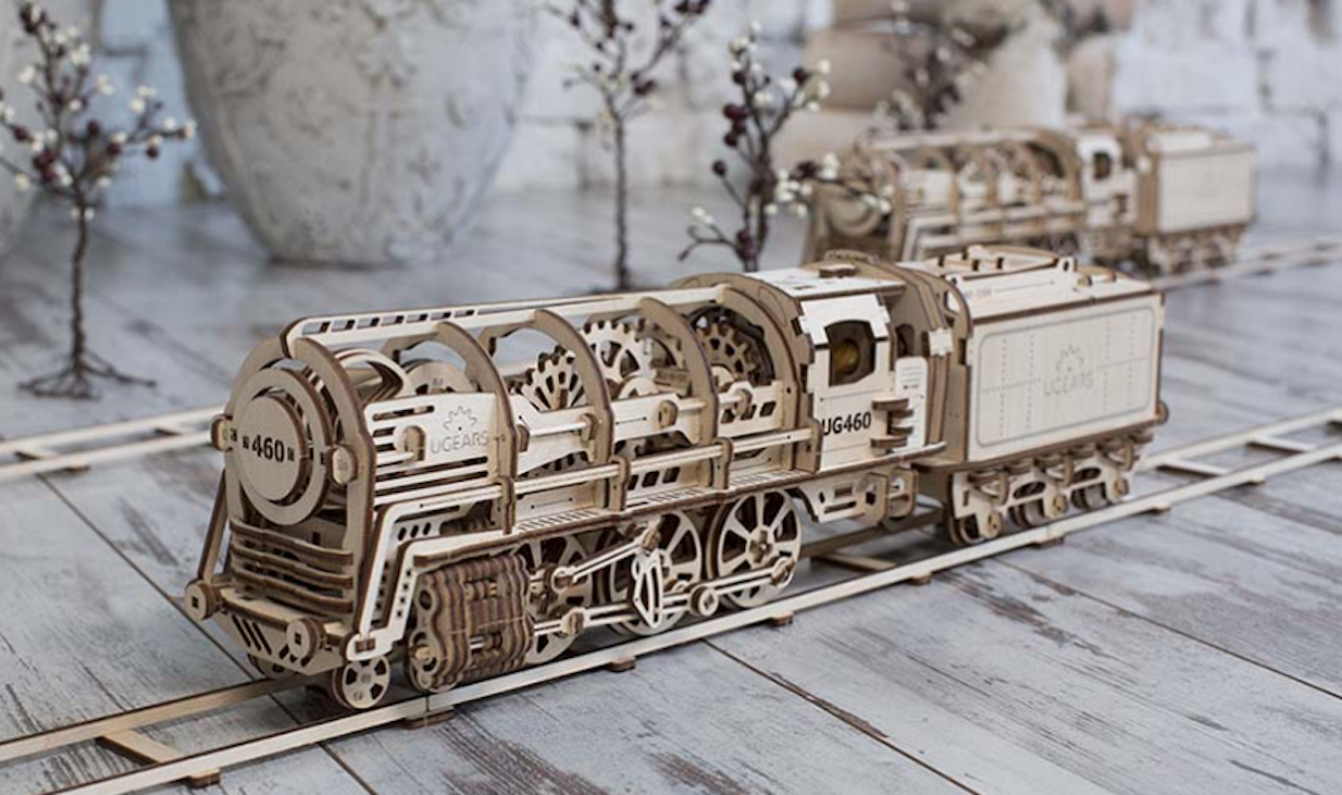 UGears 3D Wooden Mechanical Models: Toys and Visual Aids