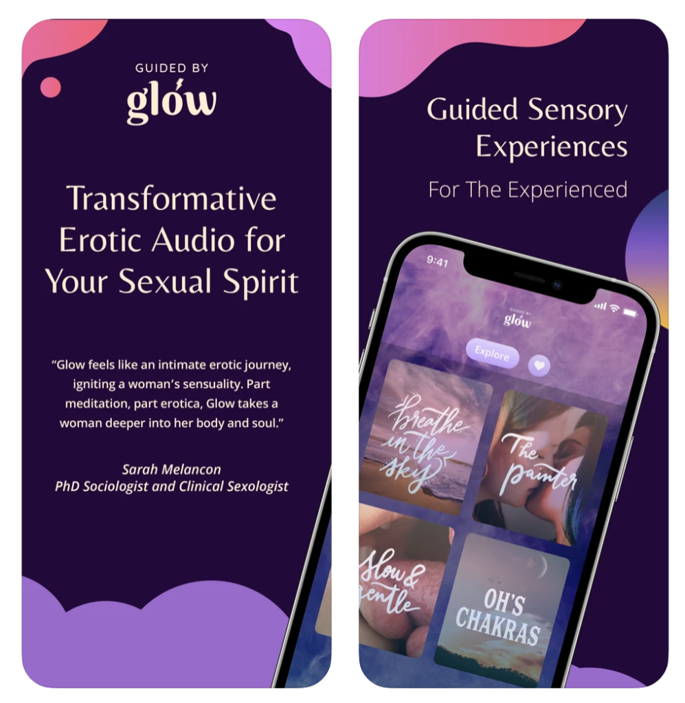 Guided By Glow with an iPhone